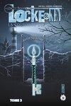 couverture Locke & Key, tome 3 : La Couronne des Ombres