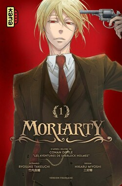 Couverture de Moriarty, Tome 1
