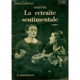 Couverture du livre : La Retraite sentimentale