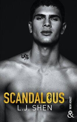 Couverture du livre : Sinners of Saint, Tome 3 : Scandalous