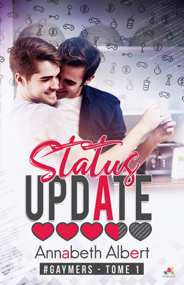 Couverture du livre : #gaymers, Tome 1 : Status Update