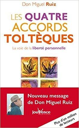 Couverture du livre : Les quatre accords toltèques : La voie de la liberté personnelle