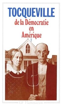 Couverture du livre : De la démocratie en Amérique, tome 2