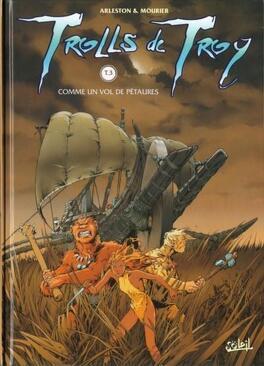 Couverture du livre : Trolls de Troy, Tome 3 : Comme un vol de pétaures