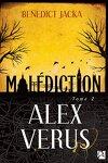 couverture Alex Verus, tome 2 : Malédiction