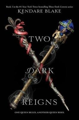 Couverture du livre : Three Dark Crowns, tome 3 : Two Dark Reigns