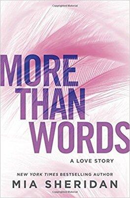 Couverture du livre : More than words
