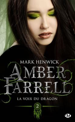 Couverture de Amber Farrell, Tome 2 : La Voix du dragon