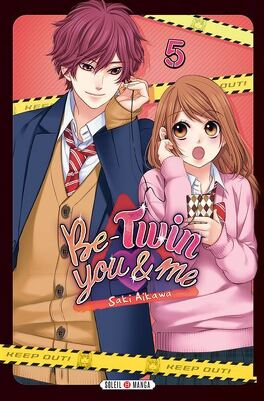 Couverture du livre : Be-Twin you and me, Tome 5