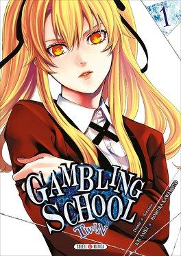 Couverture du livre : Gambling School Twin, tome 1