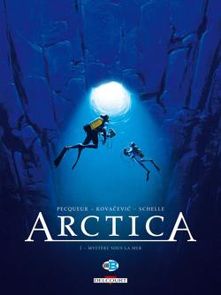 Couverture de Arctica, tome 2 : Mystère sous la mer