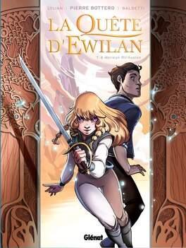 Couverture du livre : La Quête d'Ewilan, Tome 6 : Merwyn Ril'Avalon (BD)
