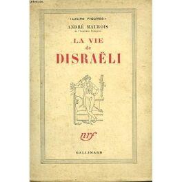 Couverture du livre : La vie de Disraëli
