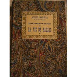 Couverture du livre : Prométhée ou la vie de Balzac