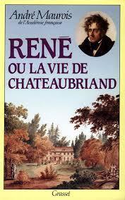 Couverture du livre : René ou La vie de Chateaubriand