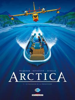 Couverture de Arctica, tome 3 : Le passager de la préhistoire