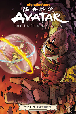 Couverture du livre : Avatar: The Last Airbender, Tome 9 : The Rift (III)