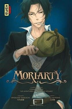 Couverture de Moriarty, Tome 2