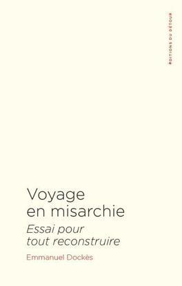 Couverture du livre : Voyage en misarchie