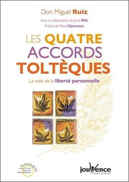 Couverture du livre : Les Quatre Accords toltèques