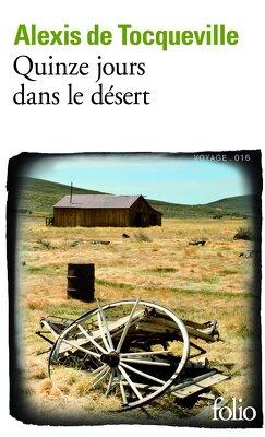 Couverture de Quinze jours dans le désert