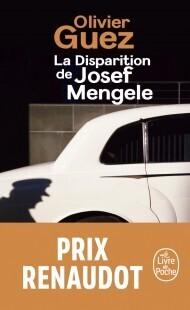 Couverture du livre : La Disparition de Josef Mengele