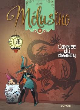 Couverture du livre : Mélusine, tome 25 : L'Année du dragon