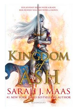 Couverture de Throne Of Glass 7 : Kingdom of Ash