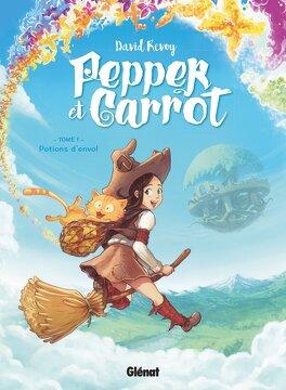 Couverture du livre : Pepper et Carrot, tome 1 : Potions d'envol