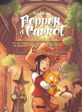 Couverture du livre : Pepper et Carrot, tome 2 : Les sorcières de Chaosah