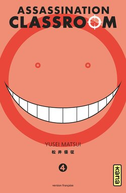 Couverture de Assassination Classroom, Tome 4