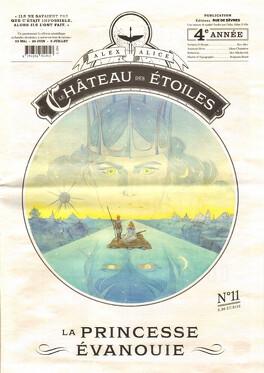 Couverture du livre : Le château des étoiles, tome 11 : La Princesse évanouie