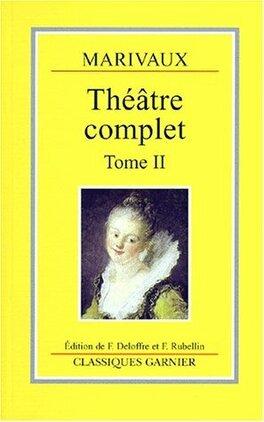 Couverture du livre : Théâtre complet tome II