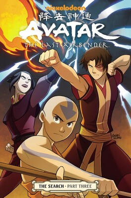 Couverture du livre : Avatar: The Last Airbender, Tome 6 : The Search (III)