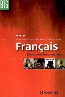 Francais Culture Generale Et Expression Bts Livre De