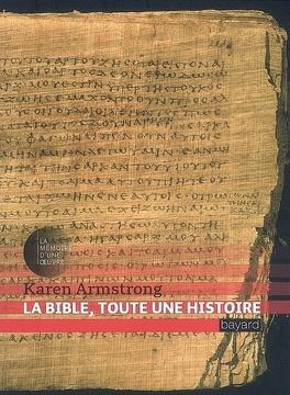 Couverture du livre : La Bible, toute une histoire