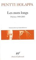 Les mots longs : poèmes, 1950-2003