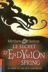 couverture Le secret d'Endymion Spring : le passé est une bête dangereuse