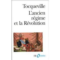 Couverture de L'Ancien Régime et la Révolution