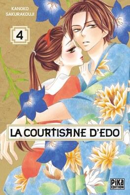 Couverture du livre : La Courtisane d'Edo, tome 4