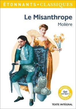 Couverture du livre : Le Misanthrope