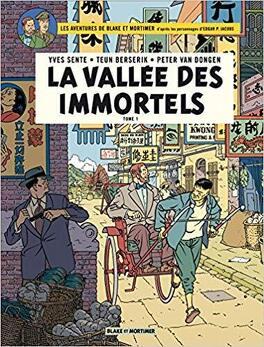 Couverture du livre : Blake et Mortimer, tome 25 : La vallée des immortels