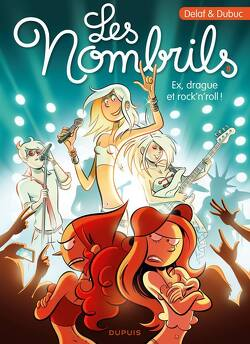Couverture de Les Nombrils, Tome 8 : Ex, drague et rock'n'roll !