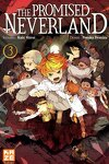 couverture The Promised Neverland, Tome 3 : En éclats