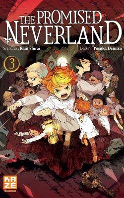 Couverture de The Promised Neverland, Tome 3 : En éclats