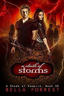 Couverture du livre : Une nuance de vampire, tome 50 : A Clash of Storms