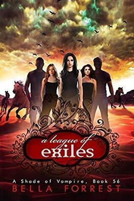Couverture du livre : Une nuance de vampire, tome 56 : A League of Exiles