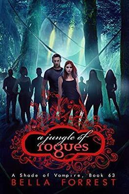 Couverture du livre : Une nuance de vampire, tome 63 : A Jungle of Rogues