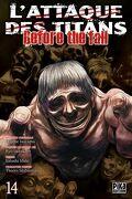 L'attaque des Titans - Before The Fall , tome 14