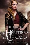 couverture Les Héritiers de Chicago, Tome 1 : La Morsure dans la peau